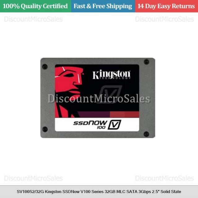 Kingston SV100S2/64G SSD Drivers for Windows Download