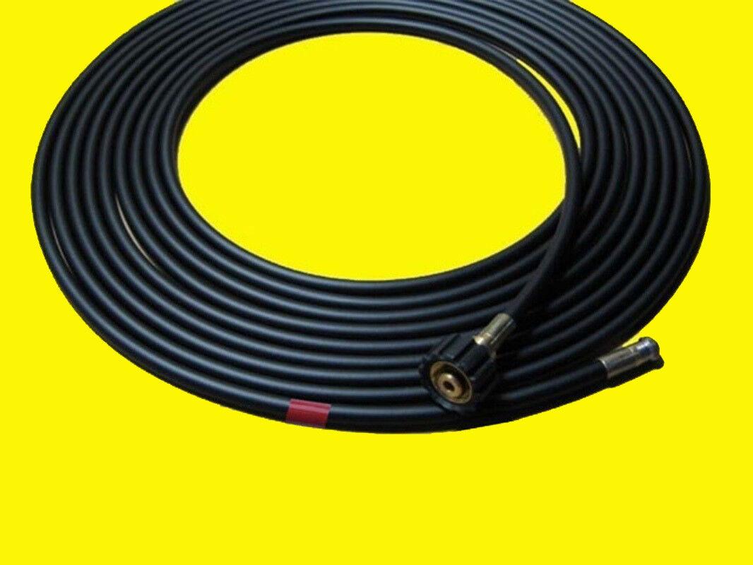 50m Profi Rohrreinigungsschlauch 200bar für Kärcher, Rohrreinigungsset mit Düse | Elegante und robuste Verpackung  | Economy  | Starke Hitze- und Abnutzungsbeständigkeit
