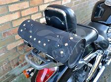 MOTORCYCLE LEATHER LARGE TOOL ROLL SADDLE BAG TRIUMPH ROCKET THUNDERBIRD (C11B)