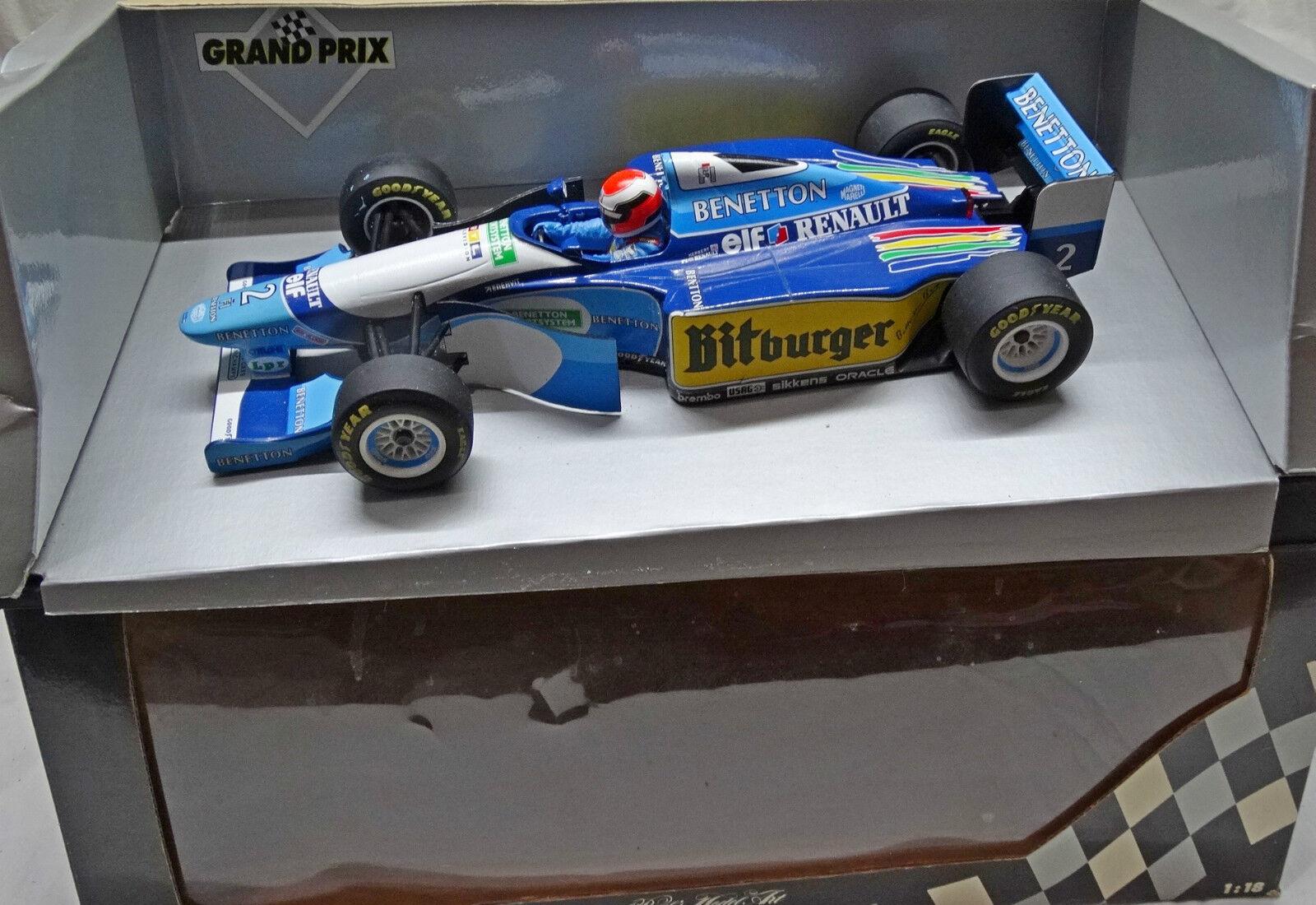 BENETTON B 194-5 F1 1995 Johnny HERBERT MINICHAMPS 1 18 Formula 1 no SPARK