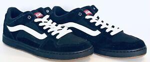 NEW Vans Mens Baxter Classic Skate shoes Black White Gum Men's ...