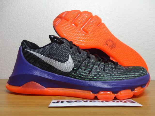 KD 8 VINARY Sz 10 100% Authentic Nike Retro VII VIII IX Black 749375 013