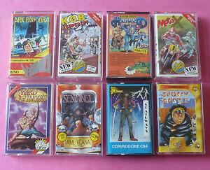 Commodore-64-C64-COLLECTION-of-GAMES-Arcade-Adventure