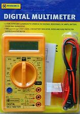 New Digital LCD Voltmeter Multimeter Circuit Tester Ammeter Ac Dc Meter Ohm