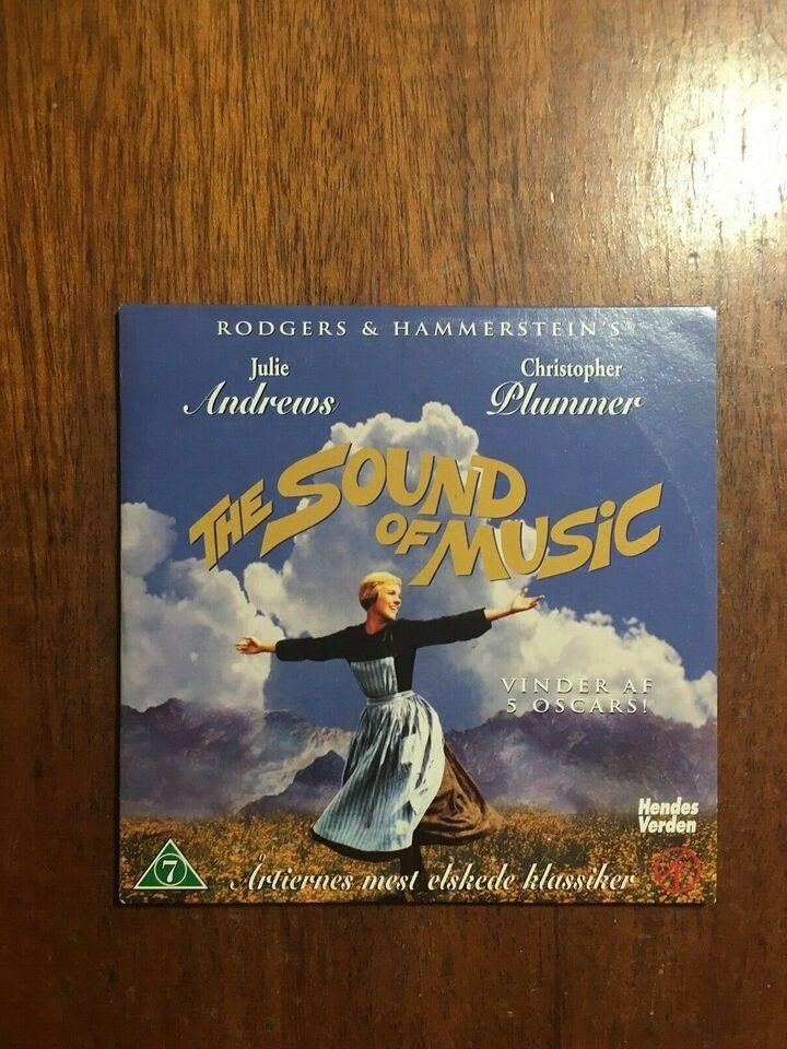 The Sound of Music, instruktør Robert Wise, DVD