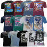 Mens Metaphor Big Plus King Size Crew Neck Graphic USA Print T Shirt 6XL 7XL 8XL