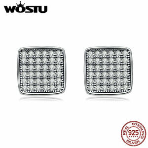 Wostu-Gorgeous-Declaration-S925-Sterling-Silver-Ear-Stud-Earrings-With-Crystal