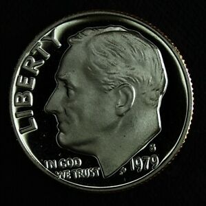 1979 S Proof Type 2 Roosevelt Dime