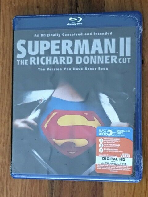 Superman II: The Richard Donner Cut (Blu-ray) BRAND NEW / FACTORY SEALED