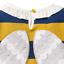 miniatuur 6 - Mini Boden Girls Bee/Ladybird Long Sleeves Top T-shirt Frill 3D Applique Stripe