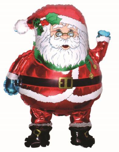 Santa Claus Foil Balloon Super Shape Christmas Party Helium or Air Fill