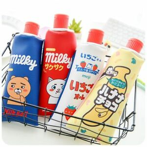 School-Stationery-Creative-Toothpaste-Shape-PU-Leather-Pencil-Bag-With-Sharpener