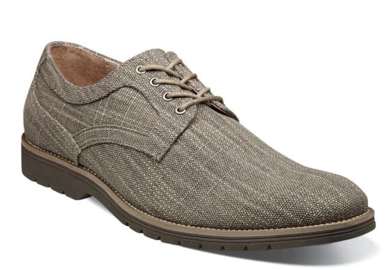 la migliore moda Stacy Adams Eli Plain Toe Oxford Casual scarpe Canvas Taupe Taupe Taupe 25237-260  presa