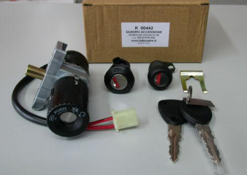 2001-2004 KIT SERRATURE AVVIAMENTO PER HONDA SH 125-150 CARB