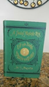 Seven Months' Run Up and Down and Around the World by J. Brooks 1st/1st 1872 VGC