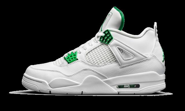 Size 10 - Jordan 4 Retro Metallic Pack - Pine Green 2020