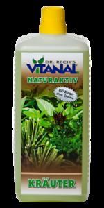 Vitanal NaturAktiv Kräuter ..rein Biologisch der Umwelt zuliebe ..... 1 Liter