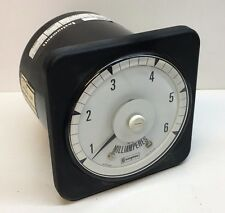 Crompton 078-05RJ-GMXS DC Ammeter Current Amp Milliamp Meter Gauge 1-5mA