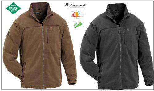 Pinewood Malone polaire marron//noir s-xxl vent-imperméable respirant