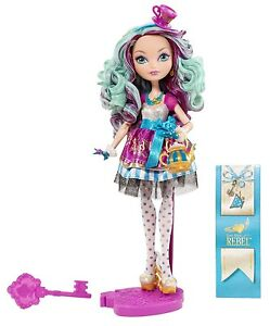 ever after high madeline hatter daughter of the mad hatter new
