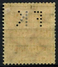 """West Germany 1922-3 SG#207, 5m Perfin """"FK"""" Cto Used #D37644"""