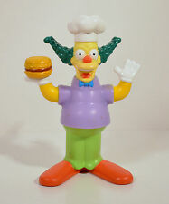 "2007 Krusty the Clown 4.25"" Burger King Movie Action Figure Simpsons"