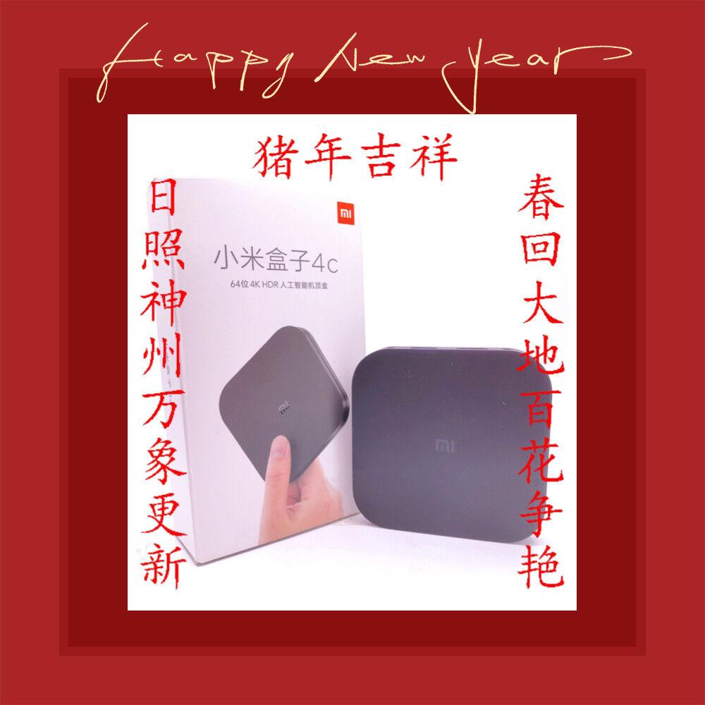 2019 Xiaomi Box MI TV最新款小米电视盒子高清海外版! 全球各地实时观看大陆所有电视台 CCTV 5 最新电视剧电影4000+ Featured