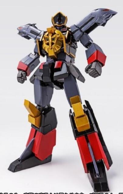 Nuevo Superrobot Cogokin The Brave Express Negro Might Gaine Actionfigure Bandai