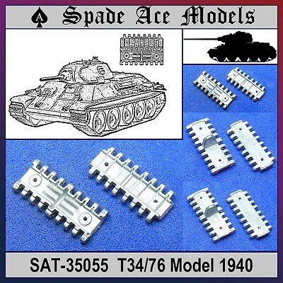Spade Ace 1/35 35055 Metal Track Russian T-34/76 Model 1940