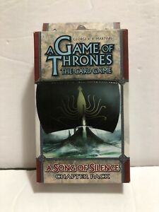 A-GAME-OF-THRONES-The-Card-Game-A-SONG-OF-SILENCE-Chapter-Pack-NEW