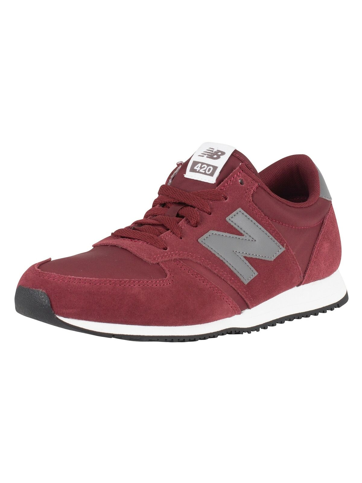 New Balance Homme 420 trainers en daim, rouge