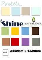 Hygienic Wall Cladding 8ftx4ft  pvc sheet upvc sheet gloss finish in all colors.