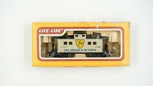 HO-Scale-LIFE-LIKE-WM-1865-Delaware-amp-Hudson-CABOOSE-Model-Train-in-box