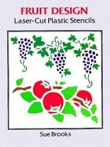 Fruit-Designs-Laser-Cut-Plastic-Stencils-by-Brooks-Sue-Miscellaneous-print-boo