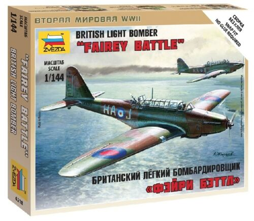 British Light Bomber Kit ZVEZDA 1:144 Z6218