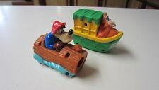 2) McDonald's Ride Viewer Toys, Splash Mountain & Jungle Cruise