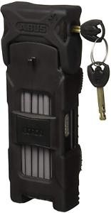 Black 120 cm ABUS 6000//120 Bordo Big Folding Lock
