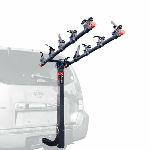 Allen Sports Deluxe 5 Bike Storage Mount Carrier Rack Hitch for Car Back Bumper