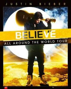 Justin-Bieber-Believe-World-Tour-Mini-Poster-40cm-x-50cm-new-and-sealed