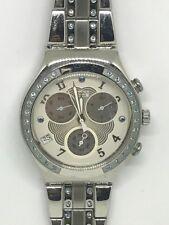 2007 Swatch Watch Pastel Wings YCS497G Irony Chrono Armbanduhr montre à bracelet
