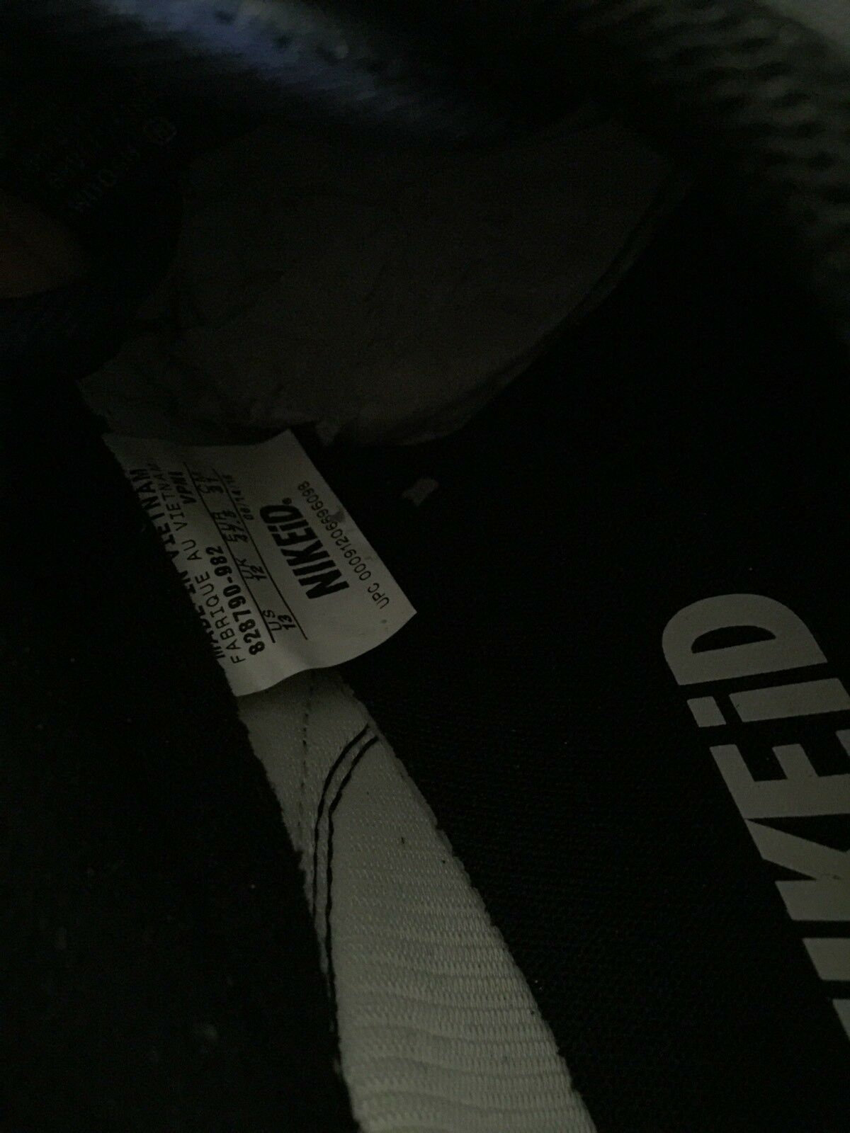 a1354e21b915 11c8c0 Nike ID Air Air Air Vortex Black size 13 Internationalist max Jax  Rare!