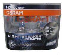 Range Rover Sport OSRAM H7 Night Breaker Unlimited Halogen Headlight bulbs