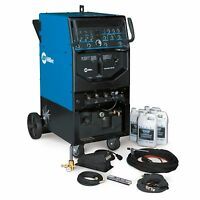 Miller Syncrowave 250 Dx Tig/stick Runner Welder Complete (951117) on sale