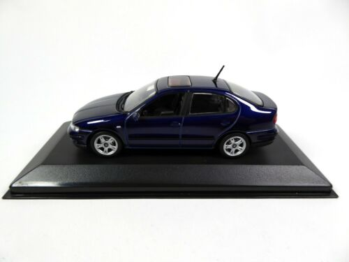 Seat Toledo 2 V5 Azul 1:43 Minichamps Diecast Dealer Miniatur Modellauto SE31
