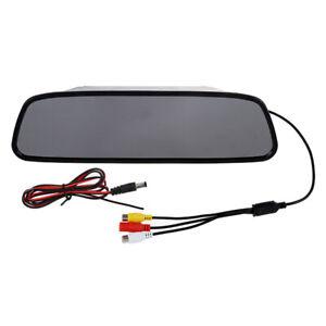 Camara-Digital-monitor-5-034-TFT-LCD-del-Coche-para-marcha-atras-Retrovisor-R-S9J9