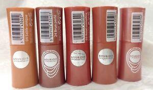 Details About Bourjois Lovely Rouge Lipstick Lip Color Moisturizing Mirror Pinks Nudes U Pick