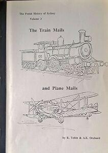 Postal-History-of-Sydney-Train-amp-Plane-Mails-Australia-Airmail-TPO-Tobin-Pmks