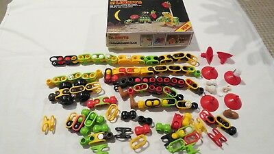 1984 MATCHBOX LINKITS TRANSMISSION TEAM BOXED BUILDING TOY GAME CHILDREN FUN