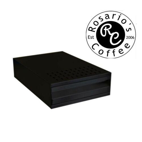 Coffee Knock Out Drawer Box - matt black