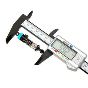 150mm 6'' Pro Vernier Caliper LCD Electronic Digital Gauge Micrometer Tool